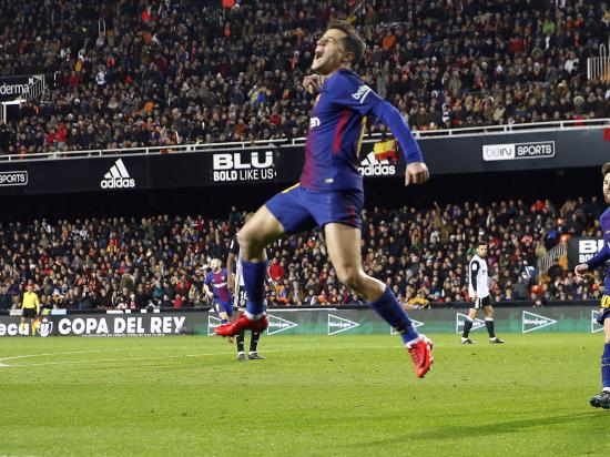 Valencia v Barcelona – story of the match