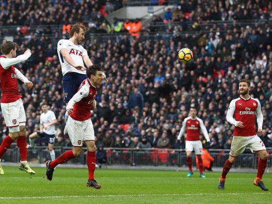 Tottenham Hotspur 1 - 0 Arsenal: Harry Kane header gives Tottenham victory over Arsenal in north London derby