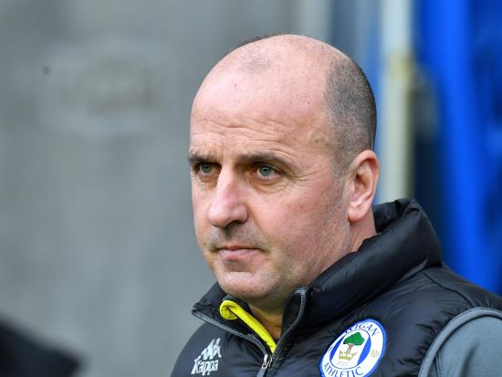 Paul Cook admits Wigan got what they deserved against Blackpool