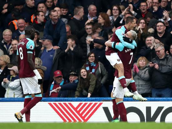 Chelsea 1 - 1 West Ham United: Javier Hernandez rescues point for Hammers at Chelsea