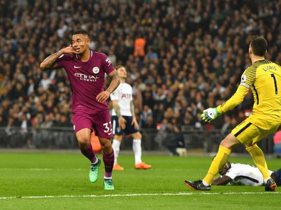 Tottenham Hotspur 1 - 3 Manchester City: Manchester City bounce back to put one hand on Premier League title