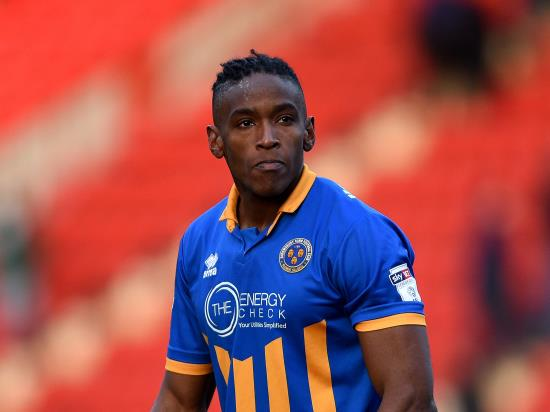 Shrewsbury without banned Beckles for Charlton clash