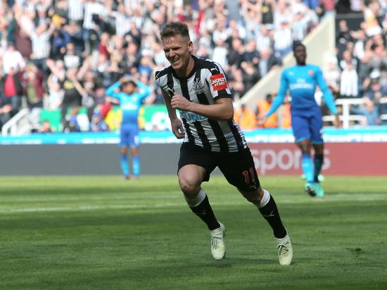 Newcastle 2 - 1 Arsenal: Newcastle move 13 points clear of bottom three with win over Arsenal