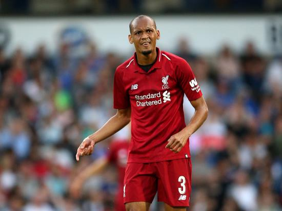 Liverpool vs West Ham United - Fabinho may not be ready for Liverpool debut