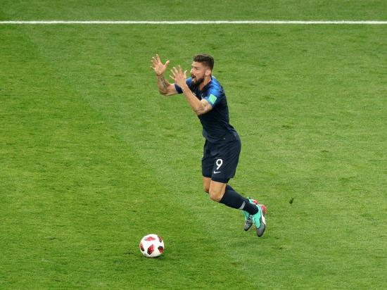 France 2 - 1 Netherlands: Giroud to the rescue for France as world champions make winning return to Paris
