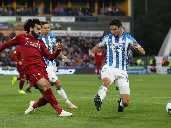 Huddersfield Town 0 - 1 Liverpool: Salah back in the goals as Liverpool edge out Huddersfield