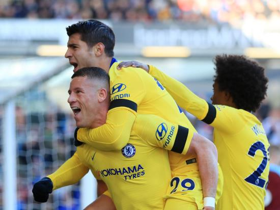 Burnley 0 - 4 Chelsea: Rampant Chelsea up to second after handing Burnley another chastening defeat