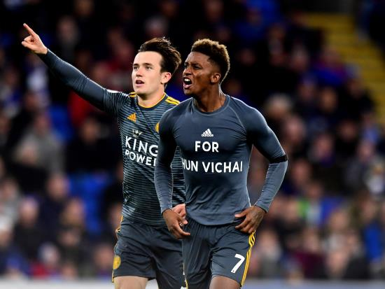 Cardiff City 0 - 1 Leicester City: Leicester honour memory of Vichai Srivaddhanaprabha with win at Cardiff