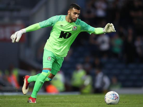 David Raya could face Rotherham in protective mask