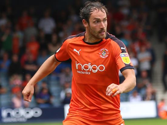 Luton striker Danny Hylton banned for Wycombe tie