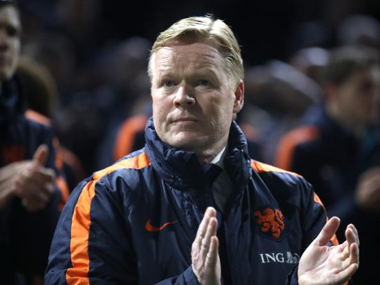 Netherlands vs France - Ronald Koeman: Dutch win over France would send a strong signal