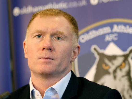Scholes straight into action with home test against Yeovil