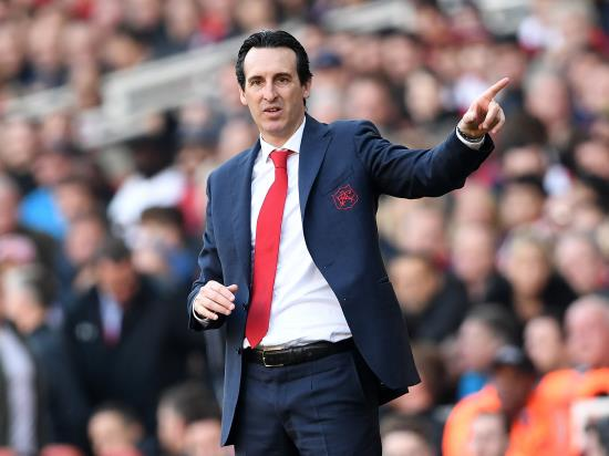 Emery hoping for more of the same as Arsenal return to top four