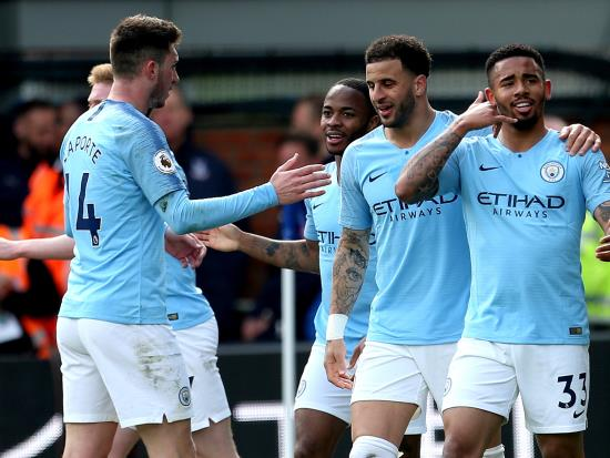 Guardiola salutes City's consistent excellence as Sterling double sinks Palace