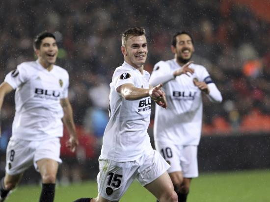 Valencia ease past neighbours Villarreal to reach Europa League semi-finals
