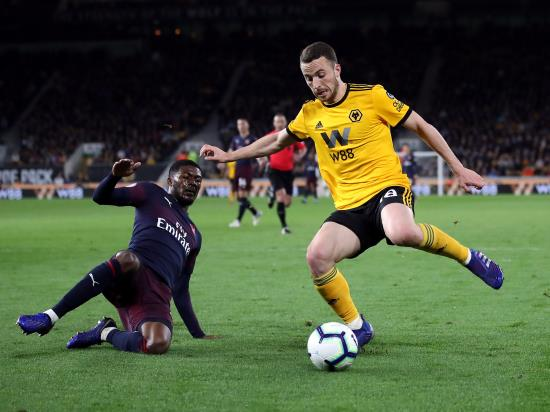 Wolves heap more away-day woe on travel-sick Arsenal