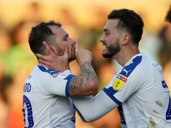 Tranmere edge past Forest Green to reach League Two play-off final