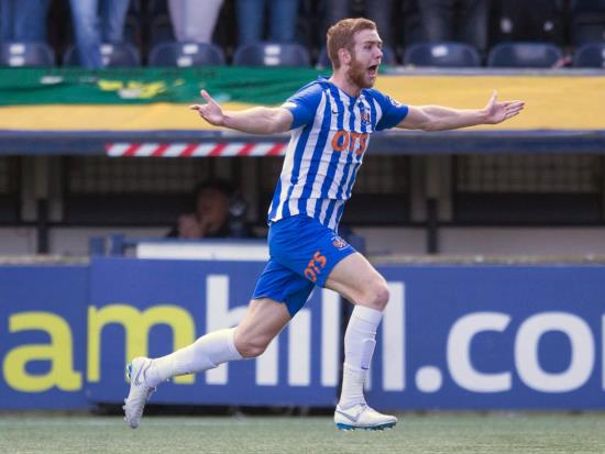 Killie come from behind to snatch Europa League advantage against Connah's Quay