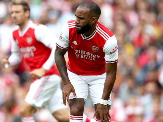 Emery insists Lacazette's injury is 'not serious' after Arsenal lose to Lyon
