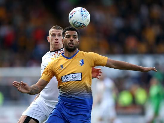Absentees pile up for Mansfield ahead of Morecambe clash