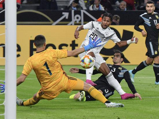 Germany pegged back after Gnabry strikes again