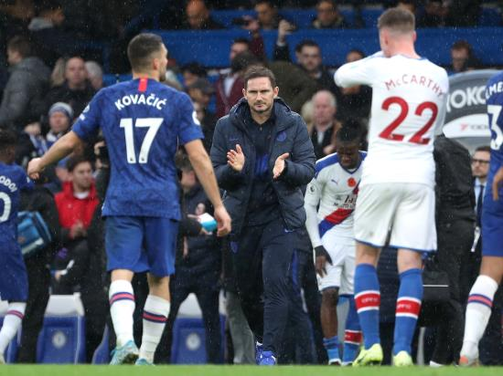 Lampard enjoys 'solid win' for Chelsea over Palace
