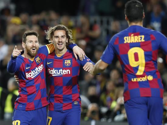 Messi marks 700th Barcelona appearance with goal in win over Dortmund