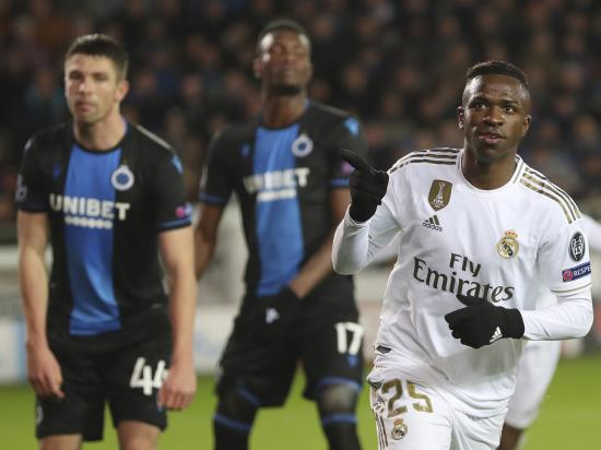 Real Madrid end Champions League group campaign with easy win over Brugge