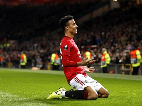 Mason Greenwood bags a brace as Manchester United beat AZ Alkmaar to win Group L