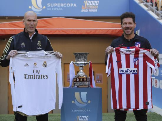Real Madrid vs Atletico Madrid - Zinedine Zidane: I'm a better coach second time round