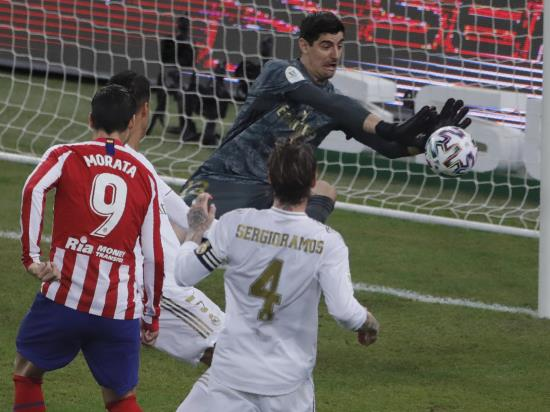 Courtois is Real Madrid hero in Super Cup win over Atletico