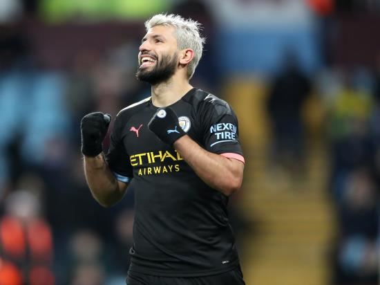 Record-breaking Aguero hits hat-trick as Manchester City demolish sorry Villa