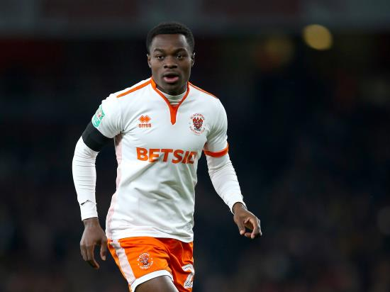 Marc Bola cup-tied when Blackpool take on Reading
