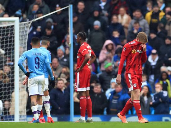 Manchester City hammer Fulham after early Tim Ream red card