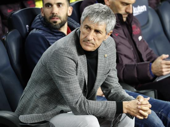 Setien wants more from Barcelona players despite big win over Leganes