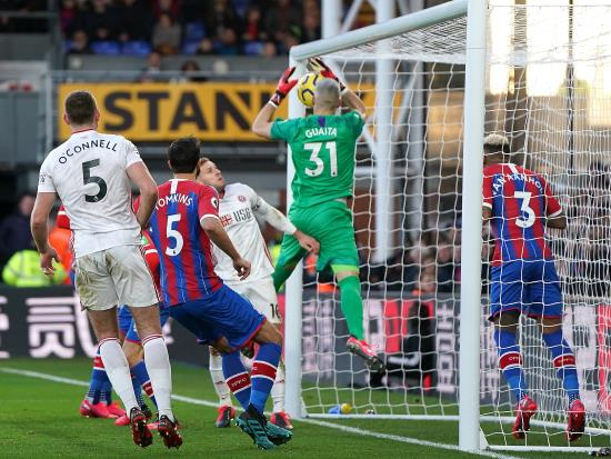 Blades enjoy another trip to London with joy at Palace