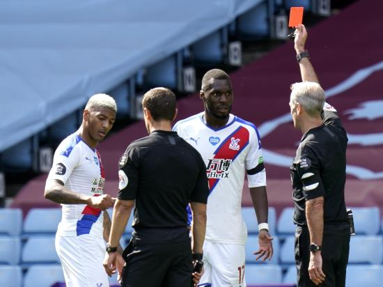 Christian Benteke banned when Crystal Palace clash with Manchester United