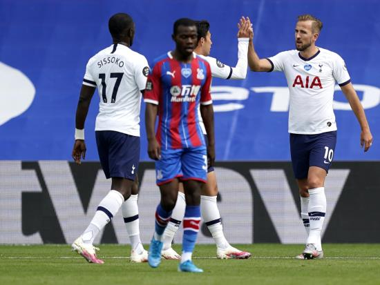 Harry Kane on target again as Spurs secure Europa spot with draw at Palace