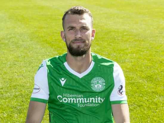 Hibernian striker Christian Doidge missing for season opener against Kilmarnock