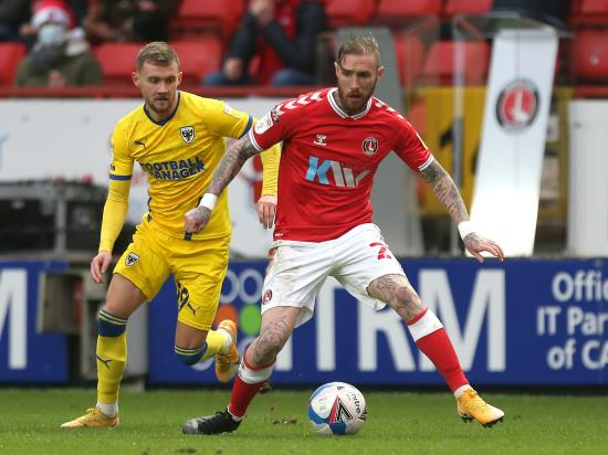 Marcus Maddison a doubt as Charlton prepare to host Rochdale