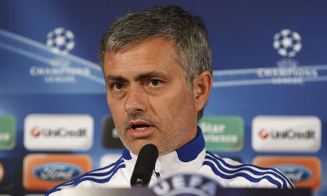 José Mourinho aims to smash down Real Madrid's European barrier