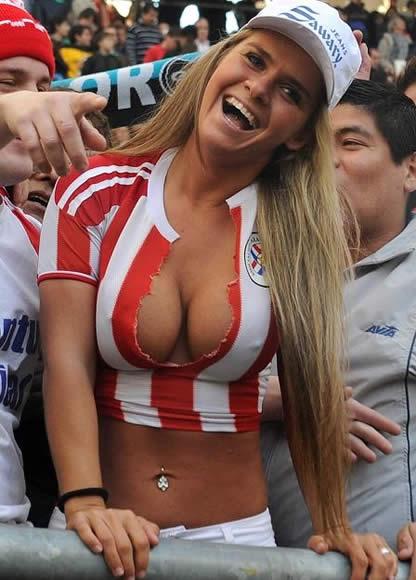 soccer boob Brazil