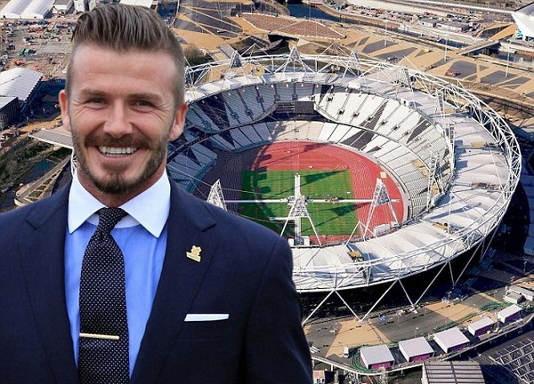 Beckham the Olympian! Pearce gives David dream finale as Team GB becomes Team DB