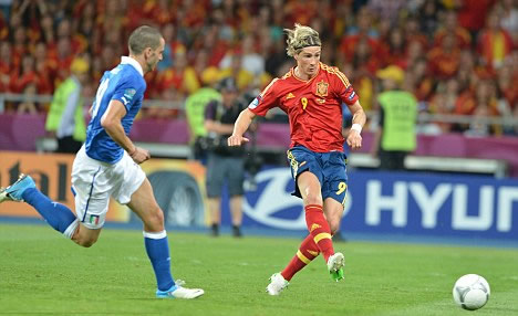 Torres pips Balotelli to Golden Boot after Spanish super sub strikes late in final
