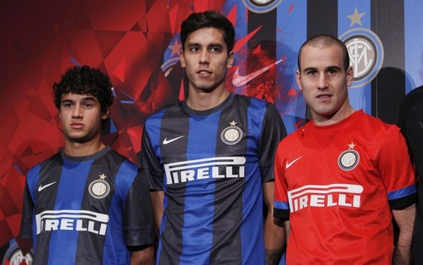 Inter Milan launches their new away kits for the 2012/13 season