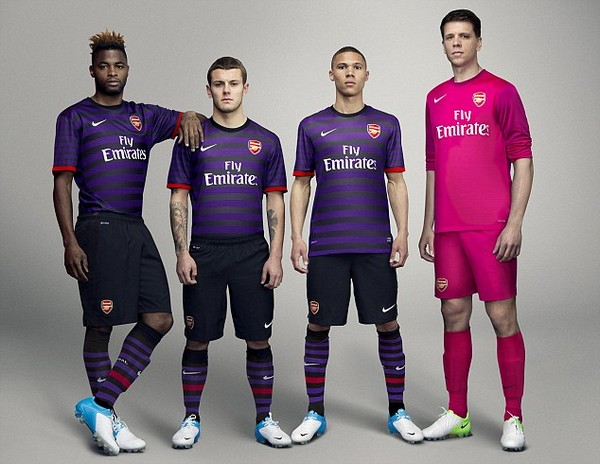 What a load of rubbish... No, really, Arsenal's new kit is made out of recycled waste...
