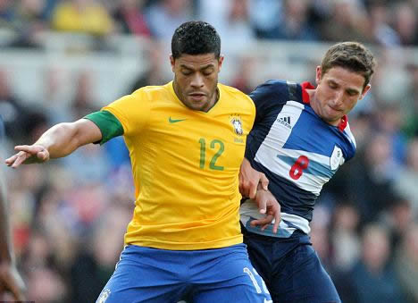 Tottenham target £63m Brazil strike force of Hulk and Damiao