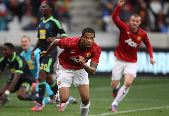 Ajax Cape Town 1 Manchester United 1: Bebe leaves it late to rescue Red Devils