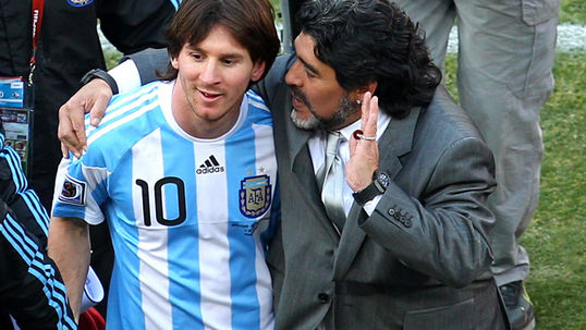 Maradona: Messi comparison beautiful