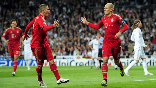 Robben: Bayern are 'hungry' for success